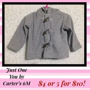 🔥5 for $10🔥 Just One You Baby Fleece Jacket 6m